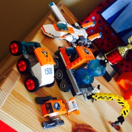 My son's lego creations
